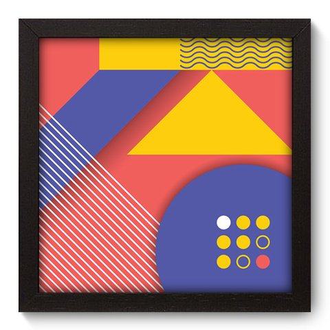Quadro Decorativo - Abstrato - 242qdap