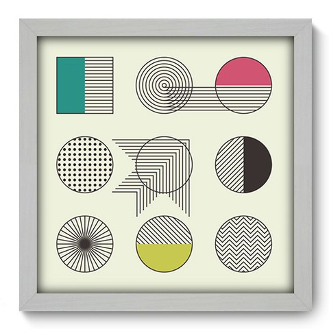 Quadro Decorativo - Abstrato - 248qdab