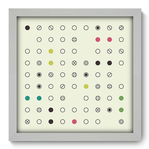 Quadro Decorativo - Abstrato - 249qdab