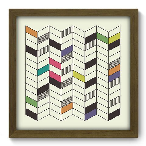 Quadro Decorativo - Abstrato - 250qdam