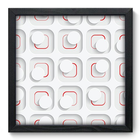 Quadro Decorativo - Abstrato - 261qdap