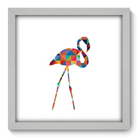 Quadro Decorativo - Flamingo - 261qdsb
