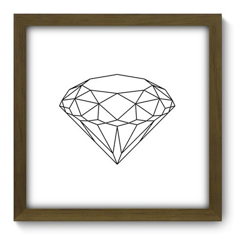 Quadro Decorativo - Diamante - 369qddm