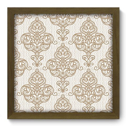 Quadro Decorativo - Damasco - 372qddm