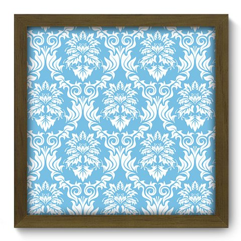Quadro Decorativo - Damasco - 375qddm
