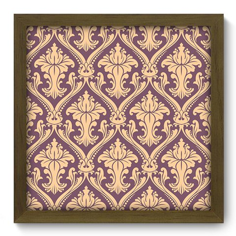 Quadro Decorativo - Damasco - 376qddm