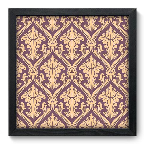 Quadro Decorativo - Damasco - 376qddp