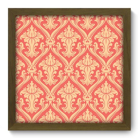 Quadro Decorativo - Damasco - 377qddm