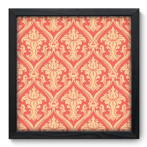 Quadro Decorativo - Damasco - 377qddp