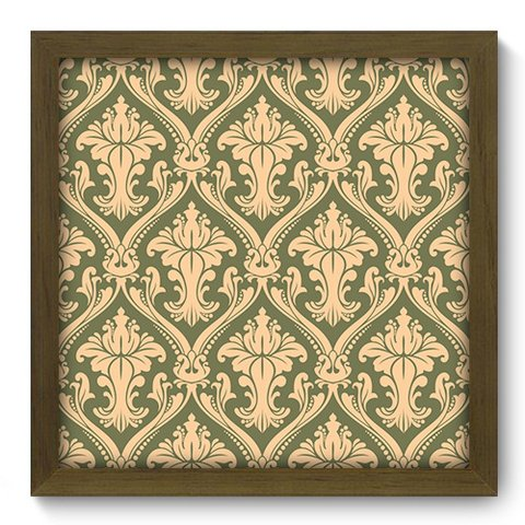 Quadro Decorativo - Damasco - 378qddm