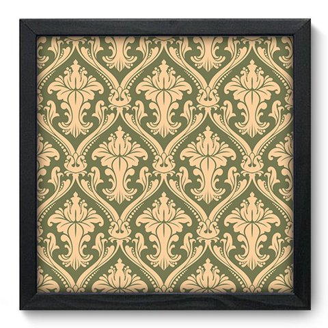 Quadro Decorativo - Damasco - 378qddp