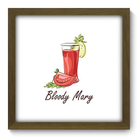 Quadro Decorativo - Bloody Mary - 379qdcm
