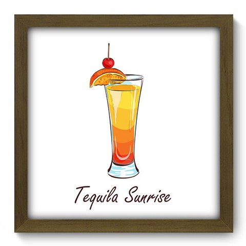 Quadro Decorativo - Tequila Sunrise - 380qdcm