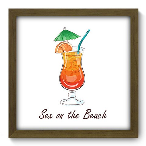 Quadro Decorativo - Sex On The Beach - 381qdcm