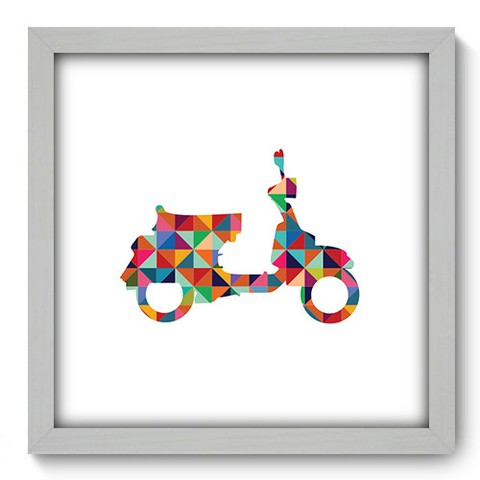 Quadro Decorativo - Scooter - 454qddb