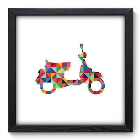 Quadro Decorativo - Scooter - 454qddp
