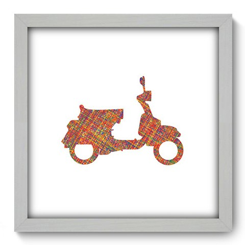 Quadro Decorativo - Scooter - 455qddb