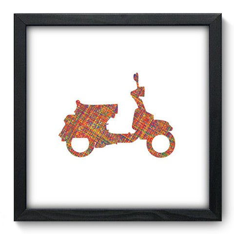 Quadro Decorativo - Scooter - 455qddp