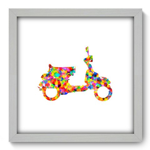 Quadro Decorativo - Scooter - 457qddb
