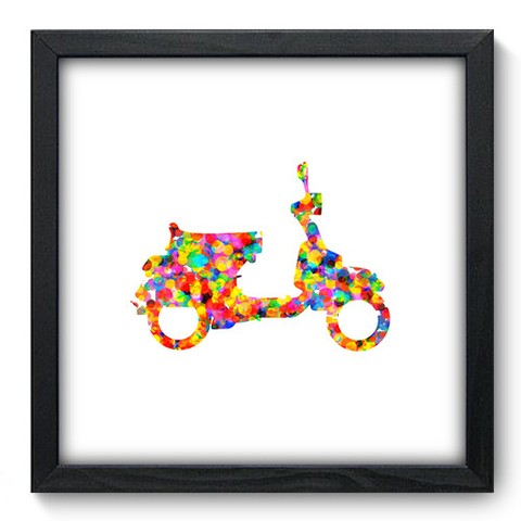 Quadro Decorativo - Scooter - 457qddp