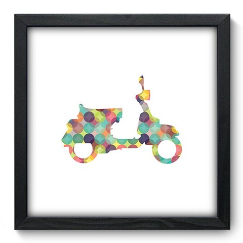 Quadro Decorativo - Scooter - 458qddp