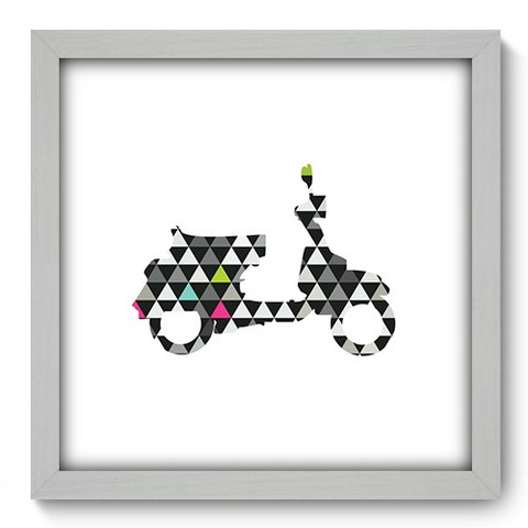 Quadro Decorativo - Scooter - 459qddb