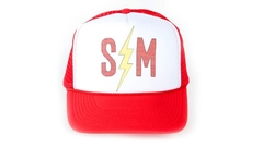 CAP S&M BOLT TRUCKER HAT (CAPSM001)