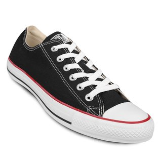 CONVERSE CHUCK TAYLOR ALL STAR OX BLACK RED