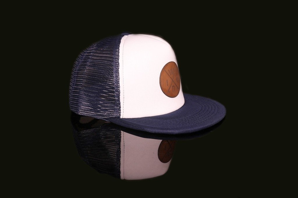 Trucker - Blue&White.