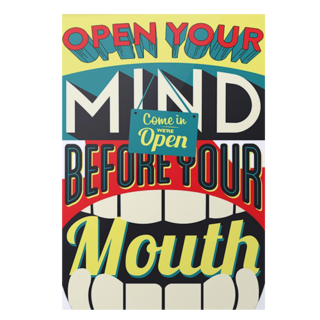 Quadro Open your Mind - 60x80