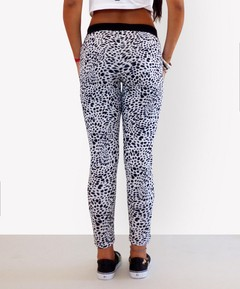 Pantalon Animal Print GIUNGLA Negro