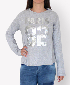 Buzo Paris 82 Gris