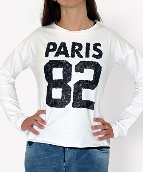 Buzo PARIS 82 Blanco