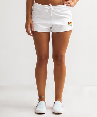 Short Florcita CORAZON Blanco