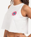Musculosa Chili FLOR Blanca - A+ Refans