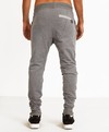 Pantalon SUPERLATIVI Gris Melange en internet