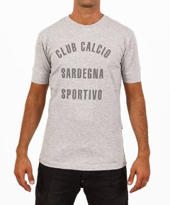 Remera Sicilia CLUB CALCIO Gris Melange