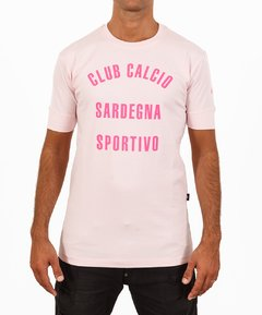 Remera Sicilia CLUB CALCIO Rosa