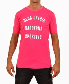 Remera Sicilia CLUB CALCIO Fucsia