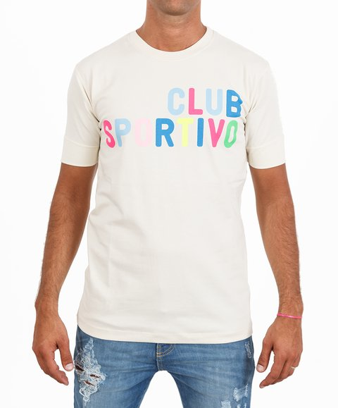Remera Sicilia CLUB SPORTIVO Natural
