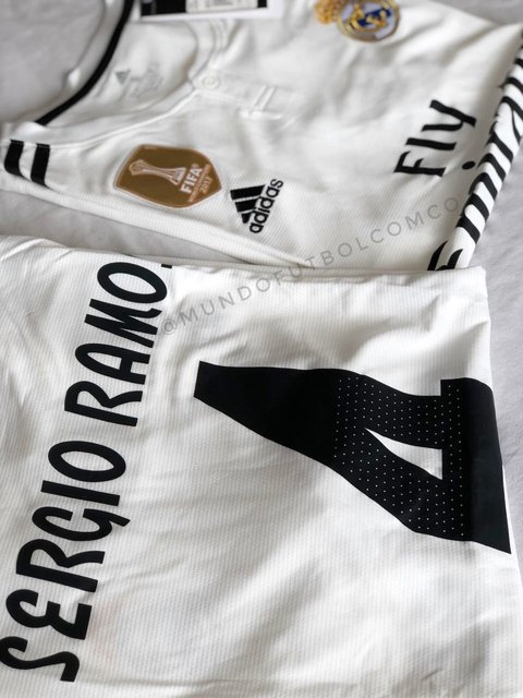 Camiseta Real Madrid 18/19 Local Sergio Ramos Entrega Inmediata - buy online