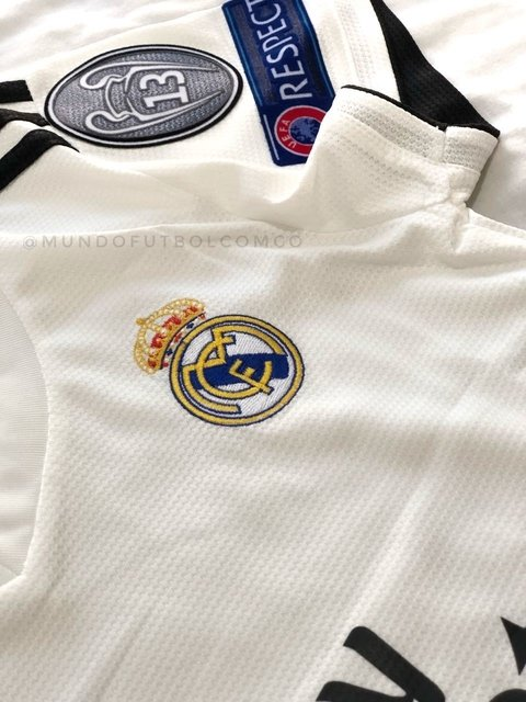 Camiseta Real Madrid 18/19 Local MUJER PRE-ORDEN en internet