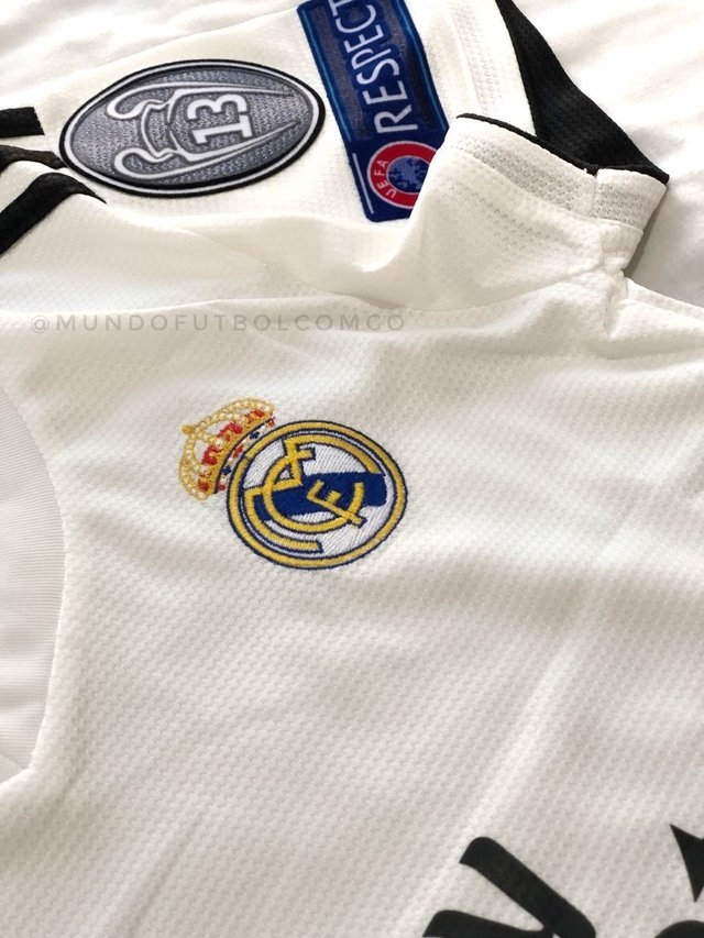 Camiseta Real Madrid 18/19 Local MUJER PRE-ORDEN on internet