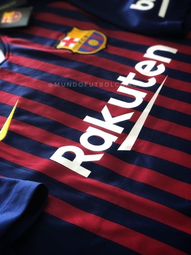 Camiseta FC Barcelona 18/19 Local MESSI  ENTREGA INMEDIATA en internet