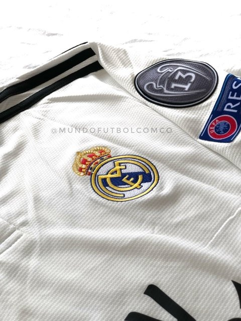 Camiseta Real Madrid 18/19 Local Sergio Ramos Entrega Inmediata - online store