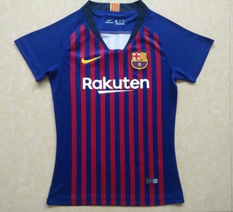 Camiseta MUJER FC Barcelona 18/19 Local PRE-ORDEN en internet