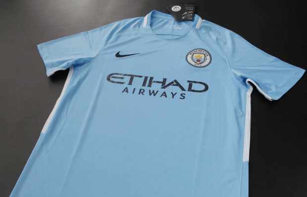 Camiseta Manchester City 17/18 Local PRE-ORDEN - comprar online