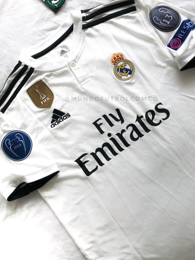 Camiseta Real Madrid 18/19 Local Sergio Ramos Entrega Inmediata on internet