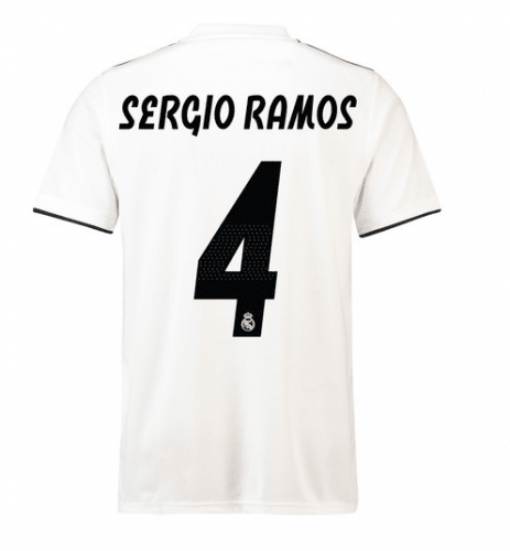 Camiseta Real Madrid 18/19 Local Sergio Ramos Entrega Inmediata
