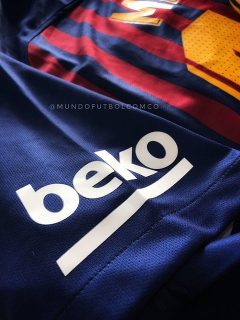 Camiseta FC Barcelona 18/19 Local ENTREGA INMEDIATA - MundoFutbol